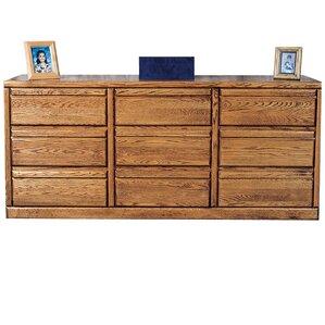 Bullnose 9 Drawer Dresser by Forest Designs