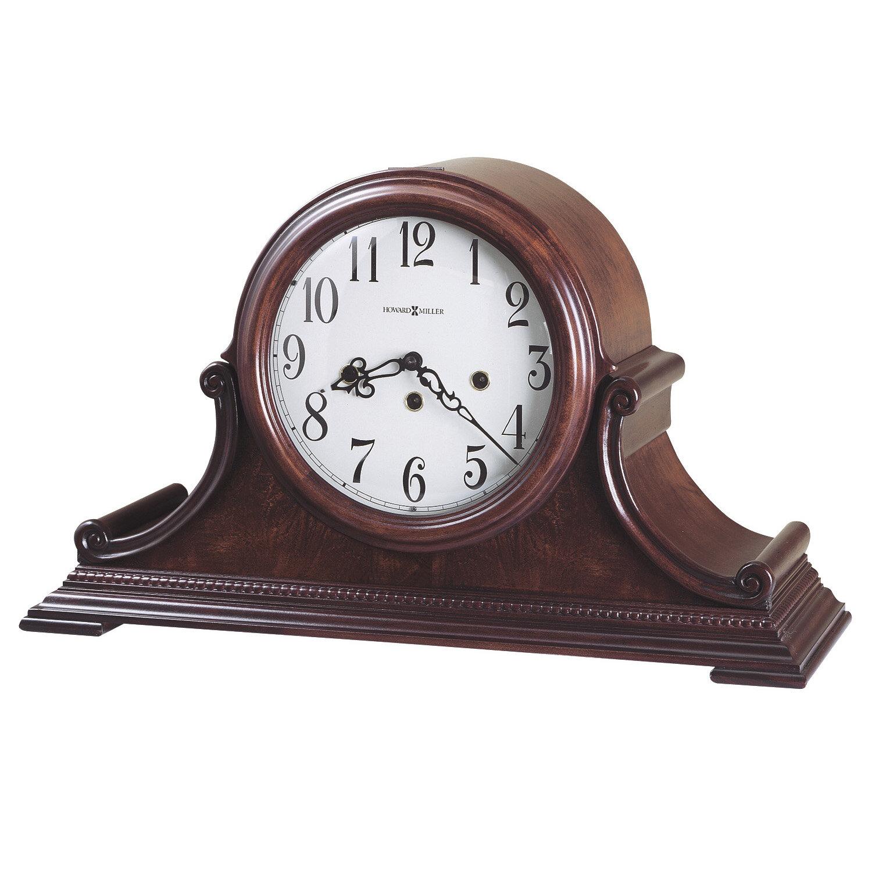 Howard miller fleetwood tambour quartz mantel clock