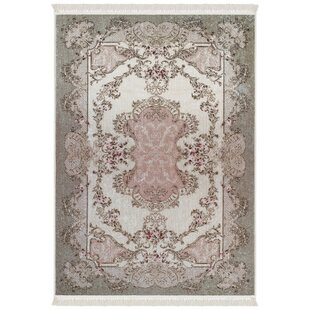 Humphery Brown Pink Area Rug
