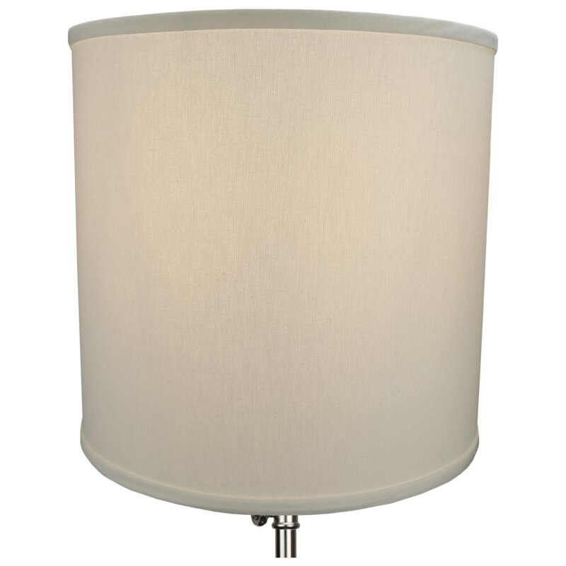 fenchel shades 14 linen drum lamp shade reviews. Black Bedroom Furniture Sets. Home Design Ideas