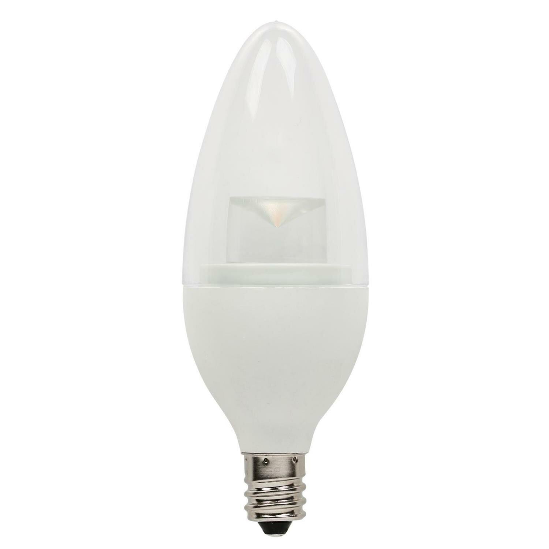 5069000 40w E12 Candelabra Led Dimmable Light Bulb Warm White Base