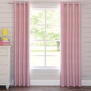Tamara Solid Blackout Grommet Curtain Panels (Set of 2)