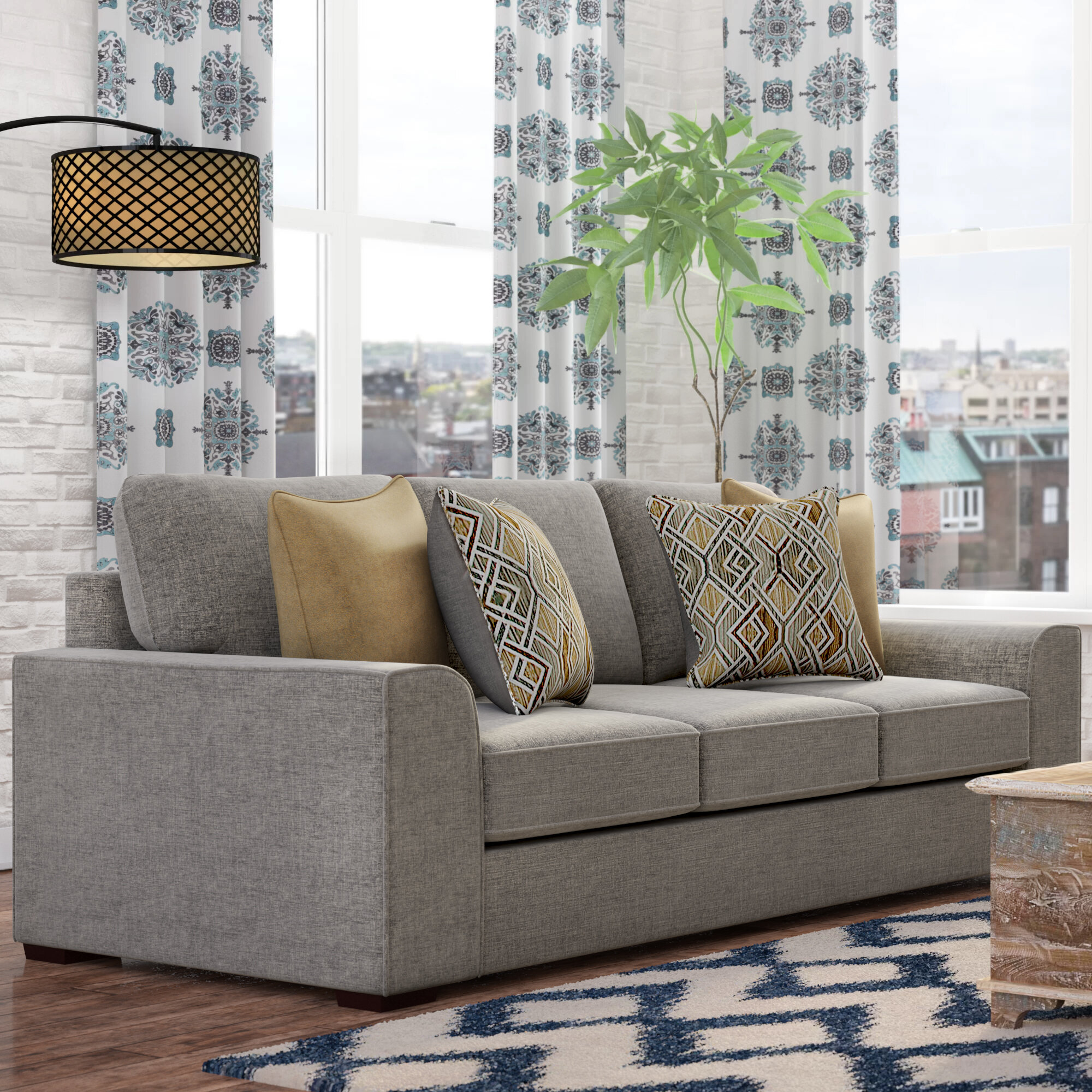 Zipcode Design Ackers Brook Sofa By Simmons Upholstery Reviews Wayfair