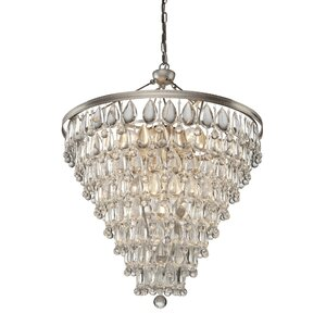 Dagnall 11-Light Crystal Chandelier