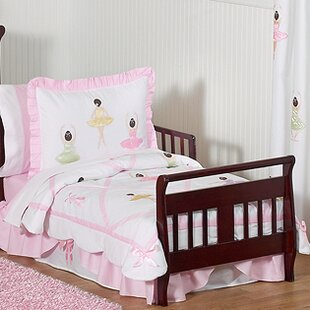 Lovely Ballerina 5 Piece Toddler Bedding Set
