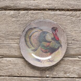 Turkey Decorative Plate (Set of 4) & Decorative Plates Set Of 4 | Wayfair