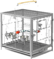 Flight Cages & Aviaries