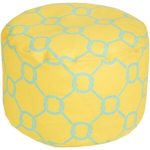 Colleton Rope Trellis Pouf..