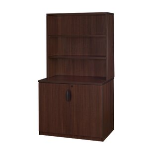 Linh 29  Storage Cabinet with Open Hutch  sc 1 st  Wayfair & Storage Cabinet With Hutch | Wayfair