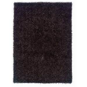 Hand-Woven Black Area Rug