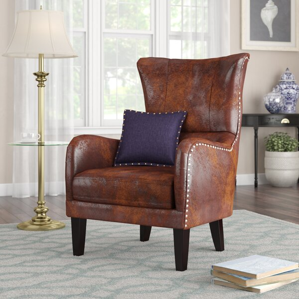 Alcott Hill Gordon High Back Wingback Chair Amp Reviews