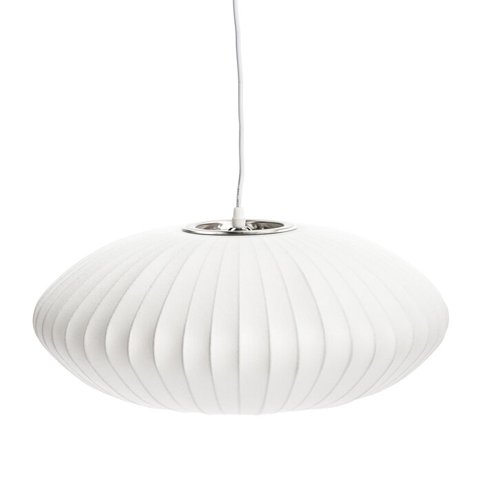 George oliver whyte bubble pendant lamp reviews wayfair whyte bubble pendant lamp aloadofball Images