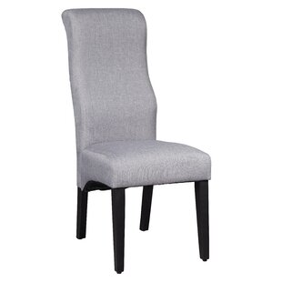 Euclid Solid Wood Upholstered Dining Chair
