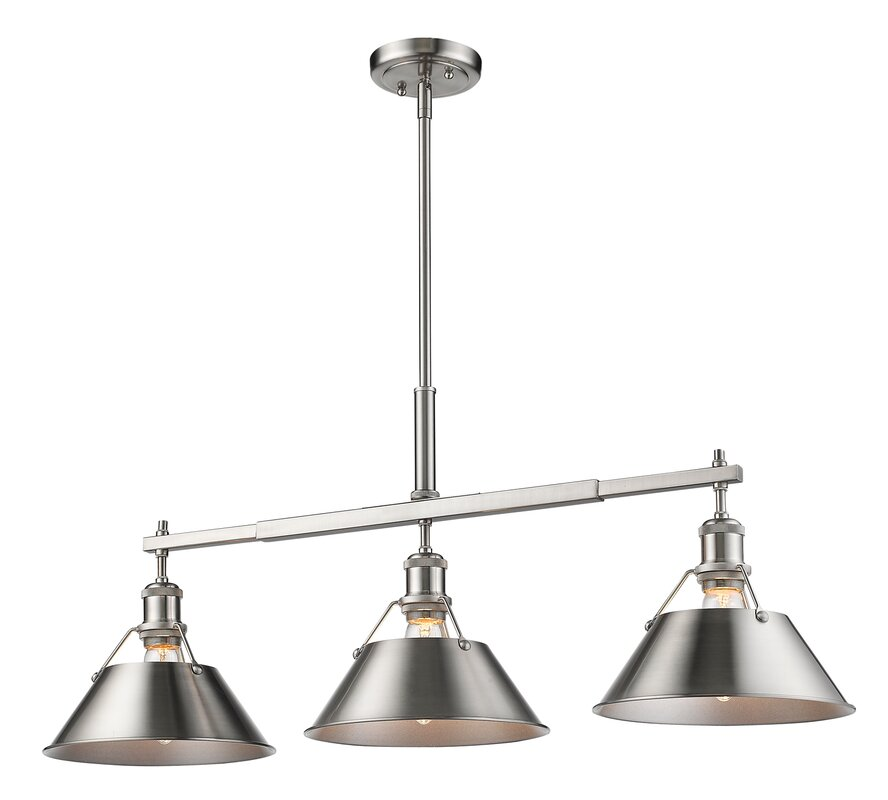 Trent Austin Design Weatherford Linear 3 Light Kitchen