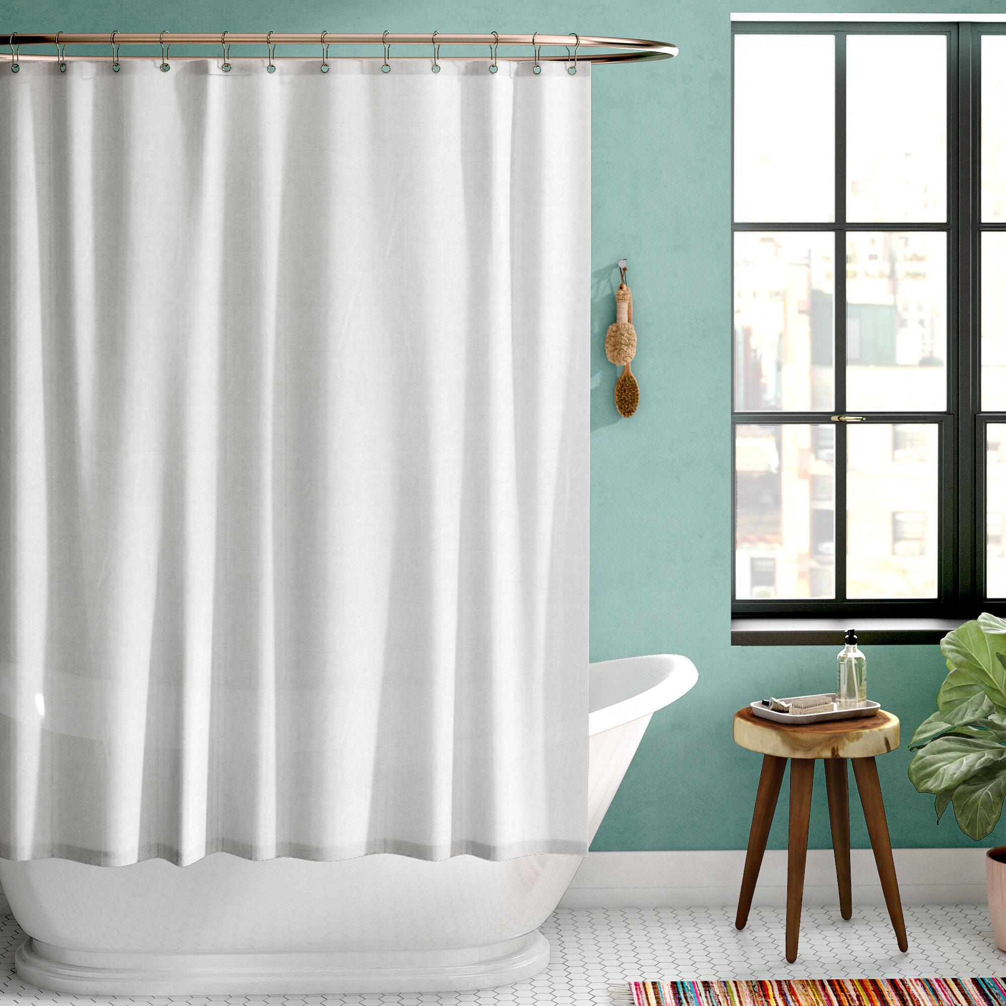 Zipcode Design Galeana Shower Curtain Liner & Reviews | Wayfair