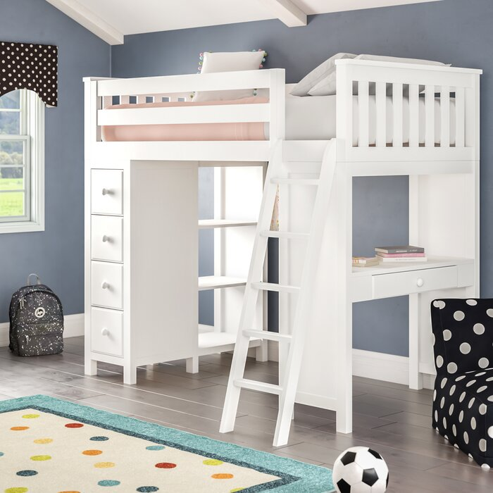 Twin Loft Bed.Ayres Twin Platform Bed