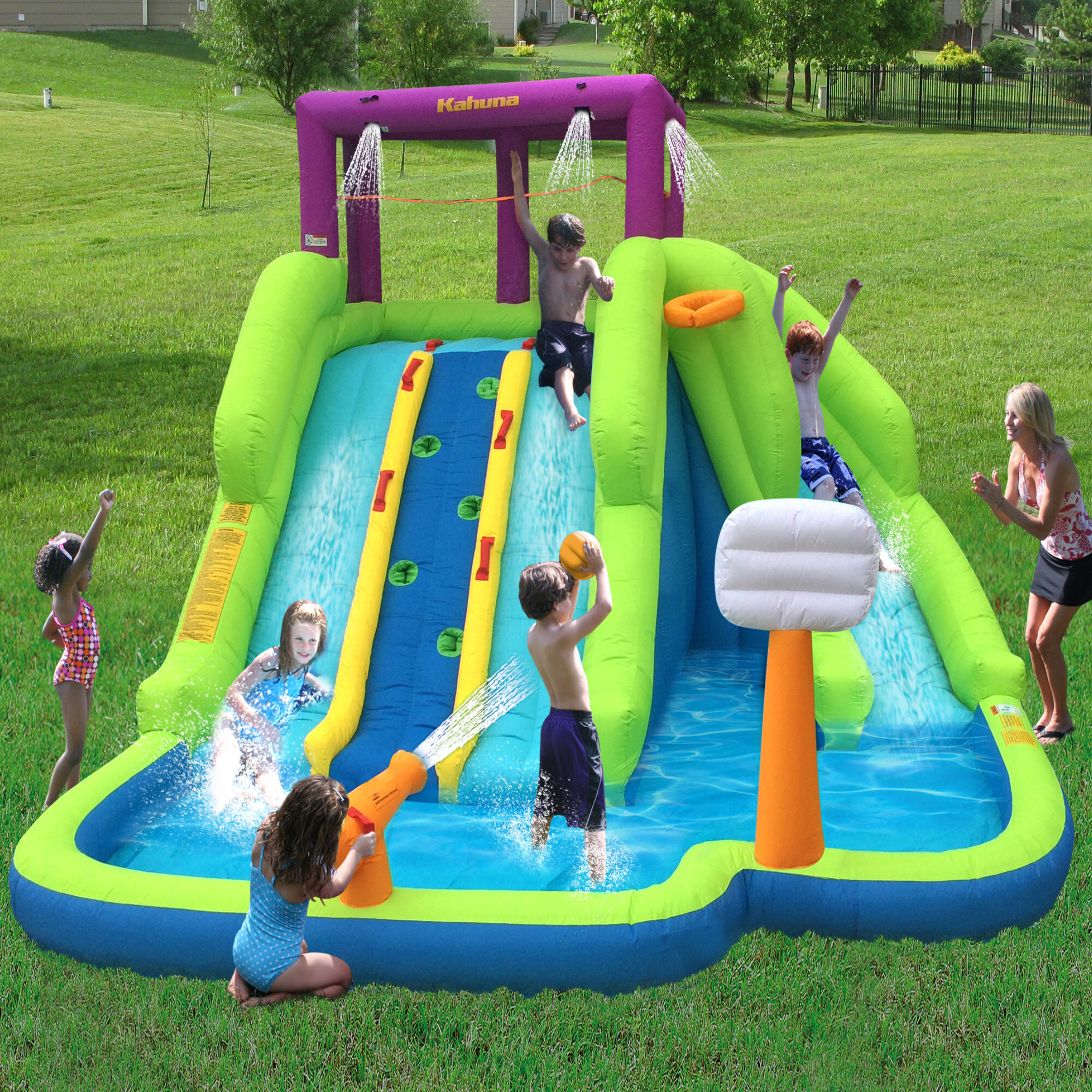 Magic Time Blast Play Centre Inflatable Water Slides