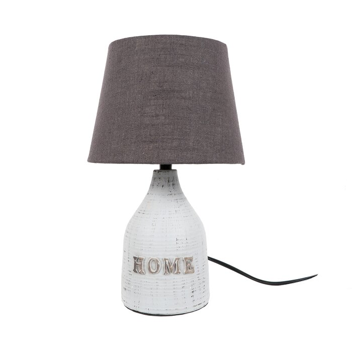 Textured shade home 11 table lamp