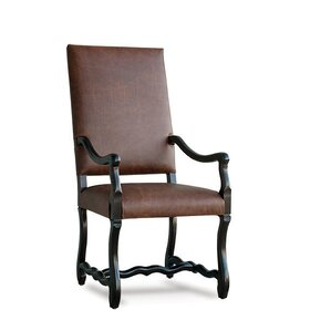 Albany Genuine Leather Upholstered Dining Chair by Uniquely Furnished