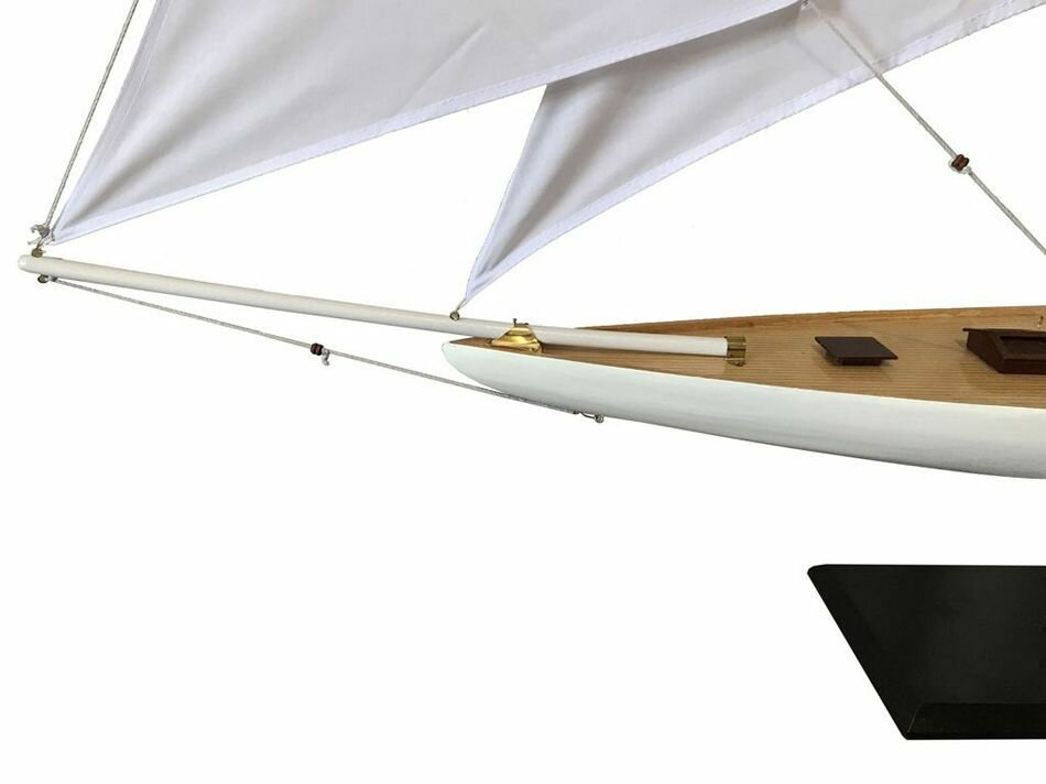 Selah Wooden Defender Model Sailboat Decoration