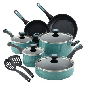 Riverbend Aluminum 12 Piece Nonstick Cookware Set