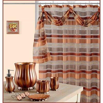 Everly Quinn Willia Mosaic Shower Curtain & Reviews | Wayfair