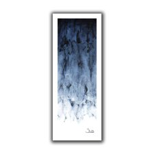 Black Water Gosselin Painting Print on Rolled Canvas