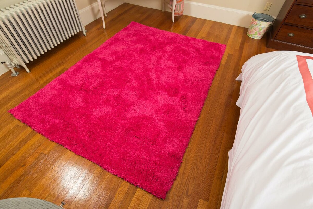 Mats Inc Super Soft Pink Area Rug Amp Reviews Wayfair