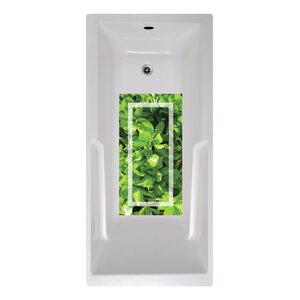 14 x 27 Dolsen Green Tropic Bath Mat