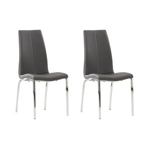 marysville upholstered dining chair set of 2
