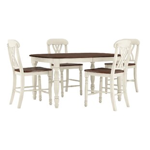 Heidi 5 Piece Pub Table Set