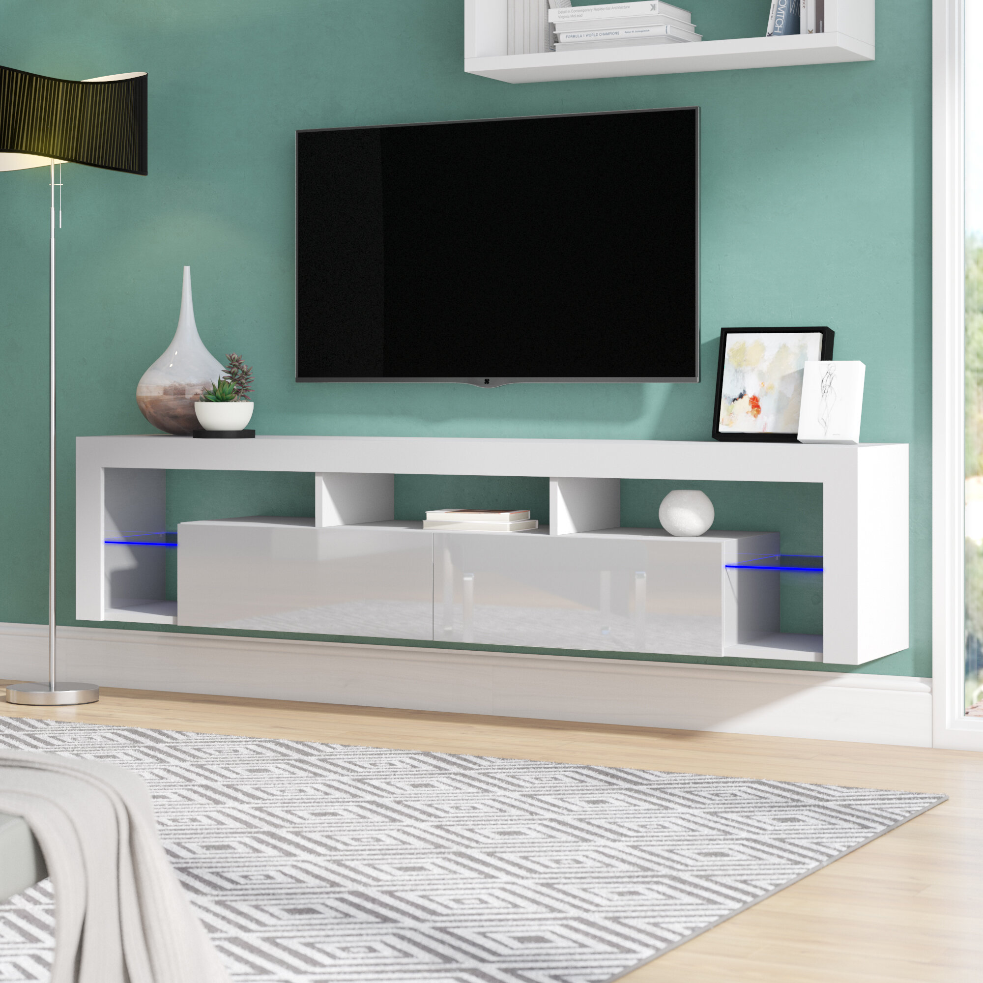 Awe Inspiring Floating Milano Bottcher Tv Stand For Tvs Up To 78 Download Free Architecture Designs Scobabritishbridgeorg