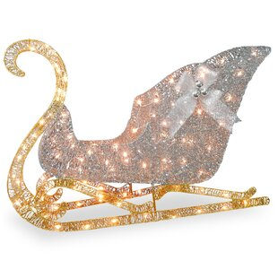 crystal sleigh christmas decoration - Outdoor Christmas Sleigh Decorations