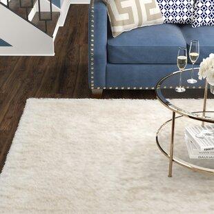 Shop For Maya Snow White Shag Rug ByWilla Arlo Interiors