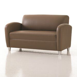 Crosby Loveseat in Grade 4 Fabric by Studio Q Furniture