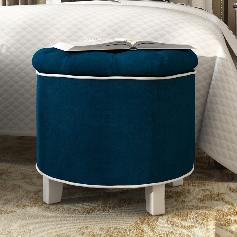 Pouf NORTHAMPTON in marineblau