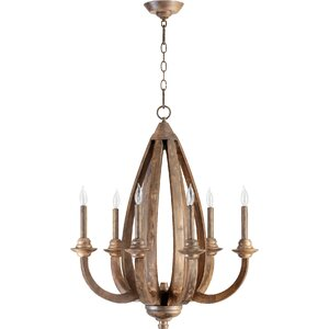 Telluride 6-Light Candle-Style Chandelier