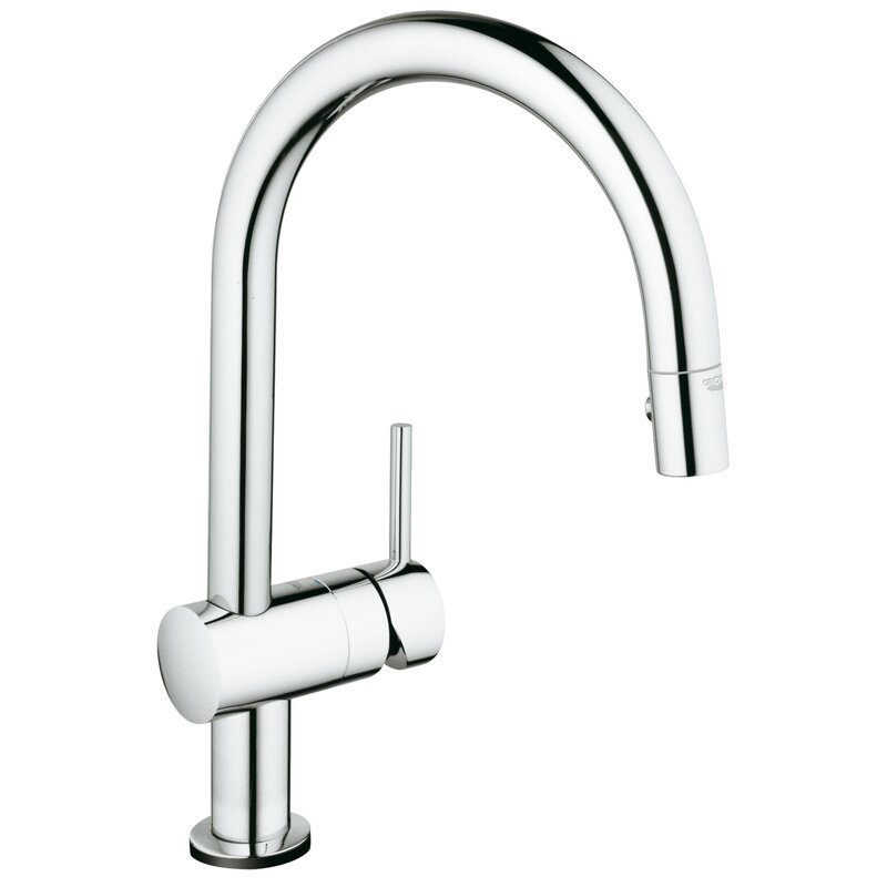 Minta Pull Down Touch Single Handle Kitchen Faucet