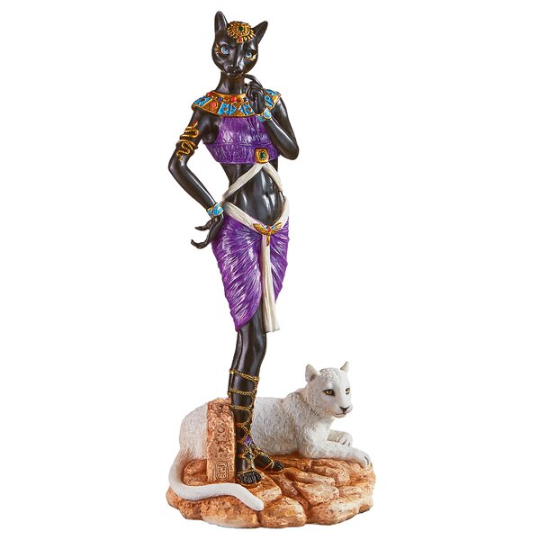 Design Toscano Bastet Egyptian Goddess Of Love Figurine | Wayfair