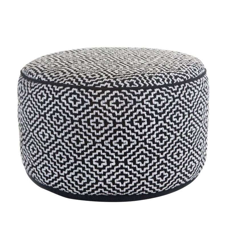 mercer41 lamont pouf reviews wayfair. Black Bedroom Furniture Sets. Home Design Ideas