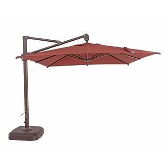 TrueShade™ Plus 10' Square Cantilever Umbrella | Wayfair