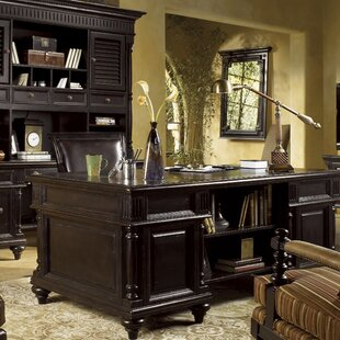 Kingstown Admiralty Solid Wood Executive Desk By Tommy Bahama Home