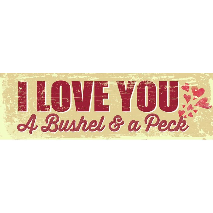Artistic Reflections \'I Love You a Bushel and a Peck\' by Tonya Gunn ...