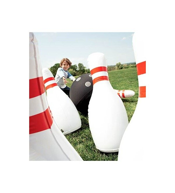 HearthSong Giant Inflatable Outdoor Bowling Game & Reviews | Wayfair