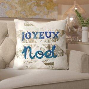 Star Noel Throw Pillow