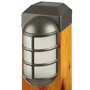 Fence post cap landscape lighting youll love 1 light fence post cap by paradise garden lighting aloadofball Choice Image