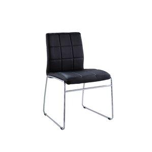 Len Upholstered Dining Chair by Orren Ellis