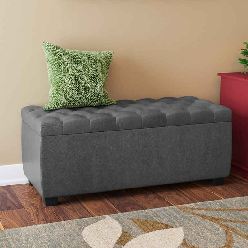 Beau Virgil Upholstered Storage Bench