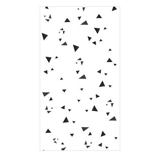 Triangles 10m x 50cm Wallpaper Panel by East Urban Home