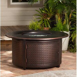 Leeward Aluminum Propane Fire Pit Table